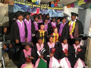 First TUMI graduation in India